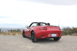 2016 Mazda MX-5 Miata Rear Angle