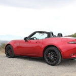 2016 Mazda MX-5 Miata Rear Angle 2