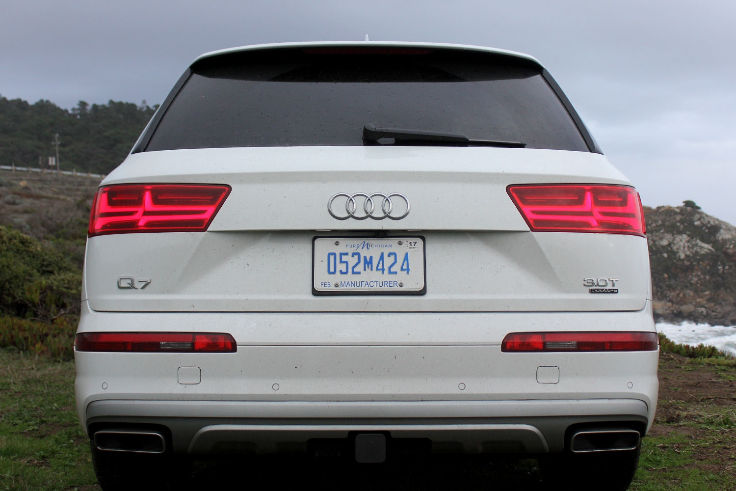 Q7 Review >> 2017-audi-q7-back-full-1500x1000 - MilesPerHr