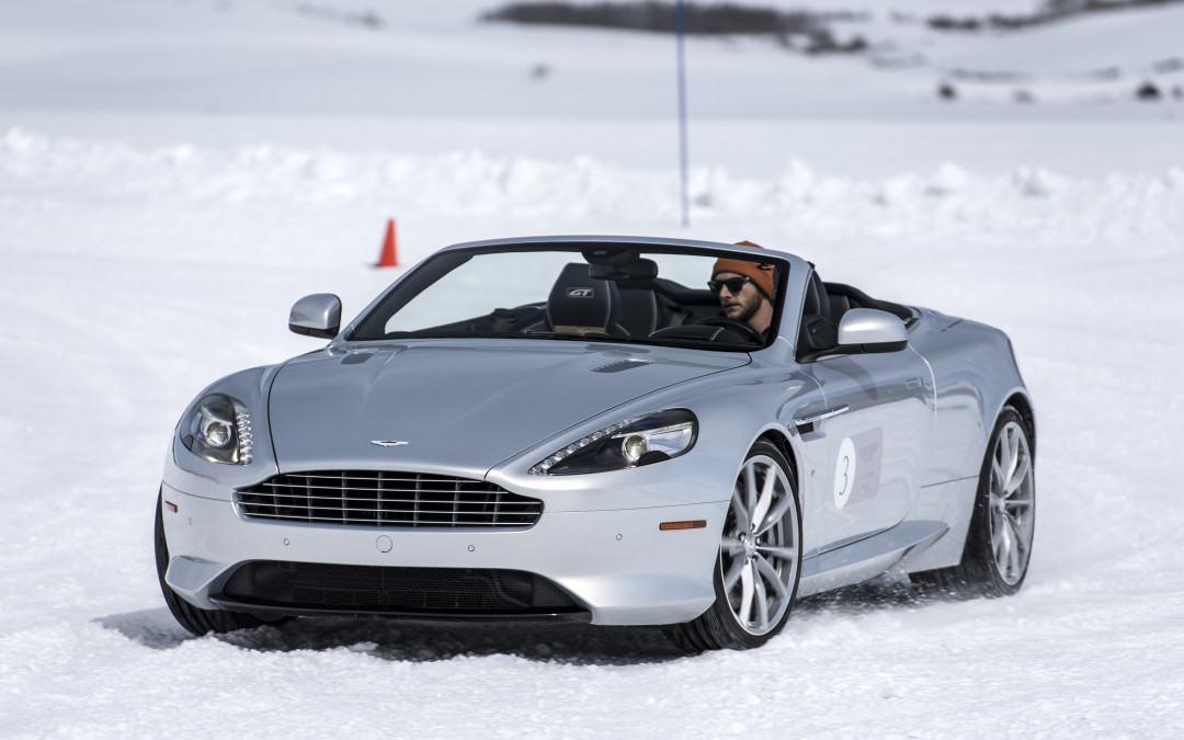 2016 Aston Martin On Ice Driving Program