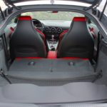 2016 Audi TT-S folded seats