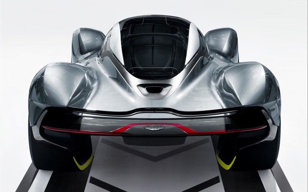 The AM-RB 001 Supercar Will Become One With The Earth Thanks To 4,000 lbs of Downforce