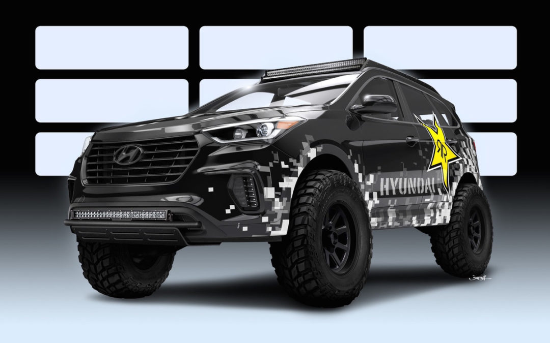 Hyundai's SEMA Concept Eats Rocks and Dirt For Breakfast