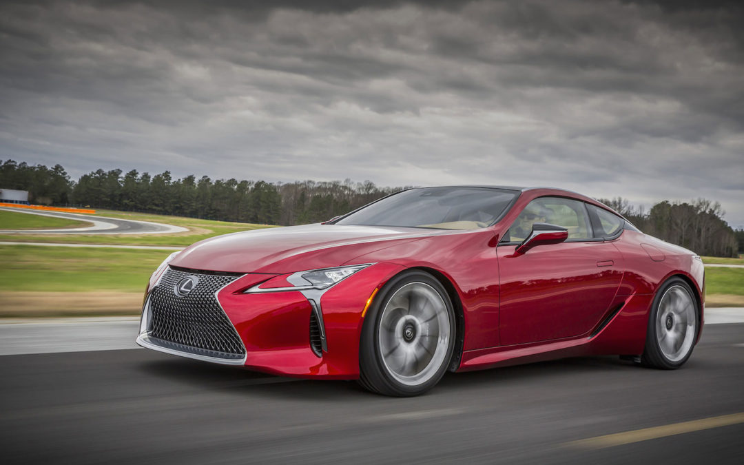 Lexus Is Working On A High-Output LC Sports Car