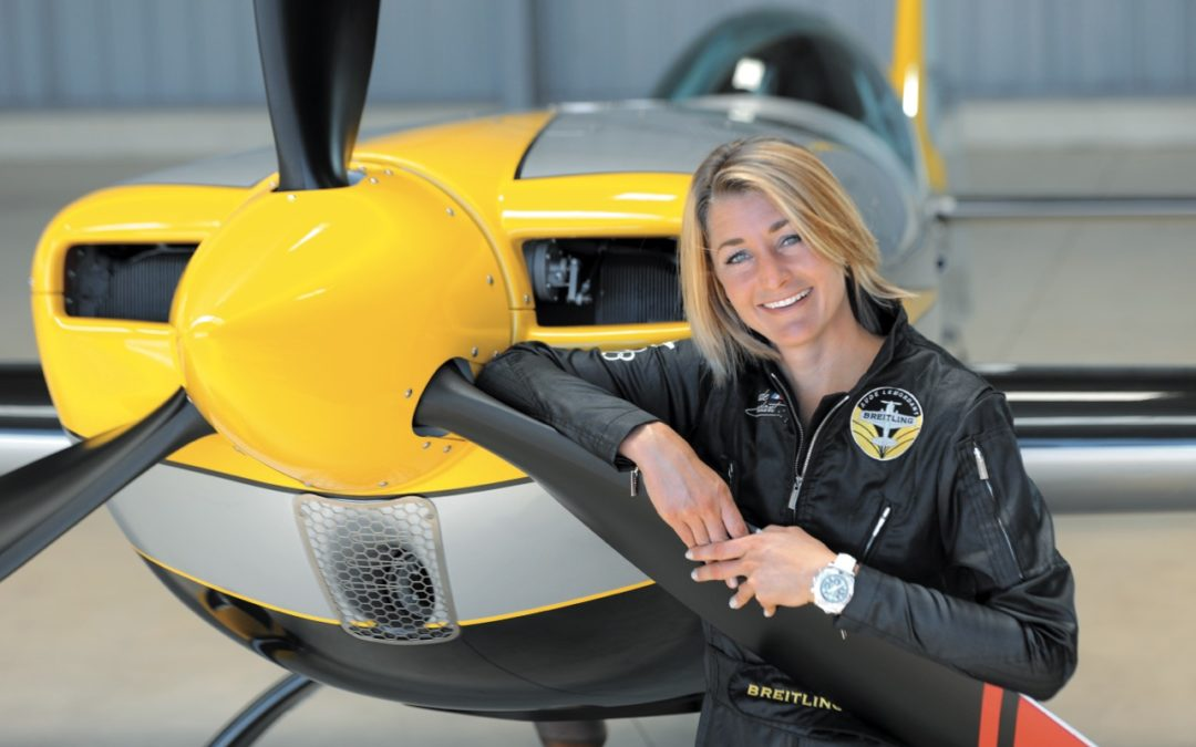Aude Lemordant Is A World Champion Acrobatics Pilot Who Runs On Passion