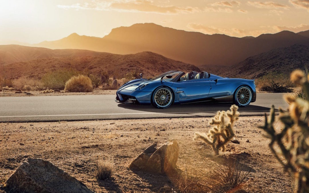 Pagani's Huayra Roadster Is A Stunner