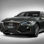 Genesis G70 front angle