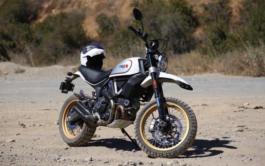 Road or Rubble: Ducati's Desert Sled Conquers All