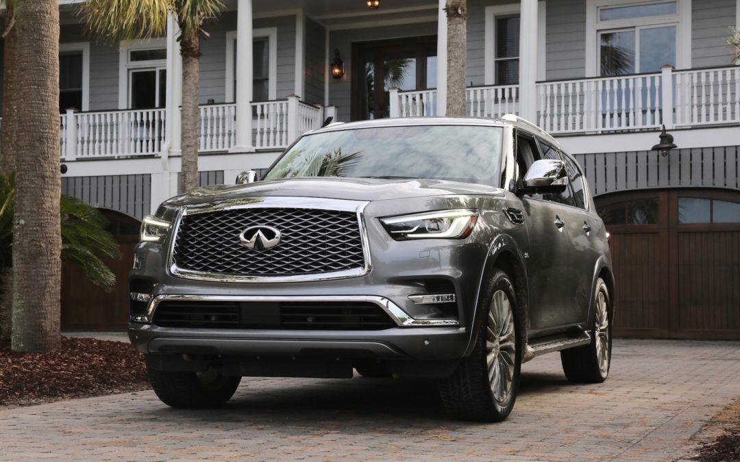 Infiniti's Facelifted QX80 Looks Upscale, Feels Dated