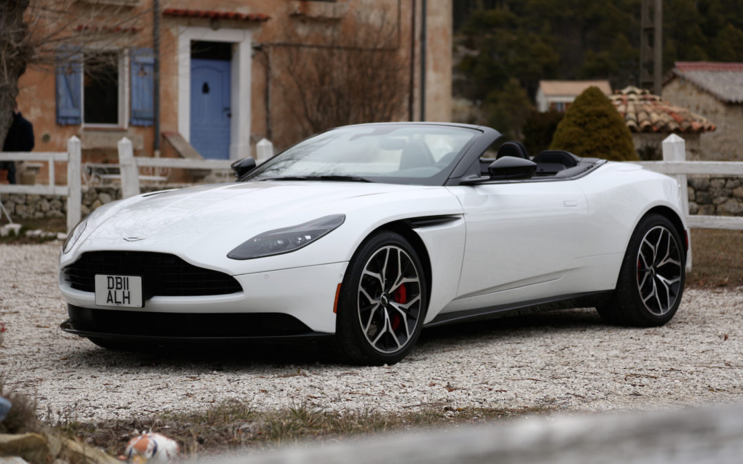 It's Nicer in Nice When Driving a Convertible Aston Martin