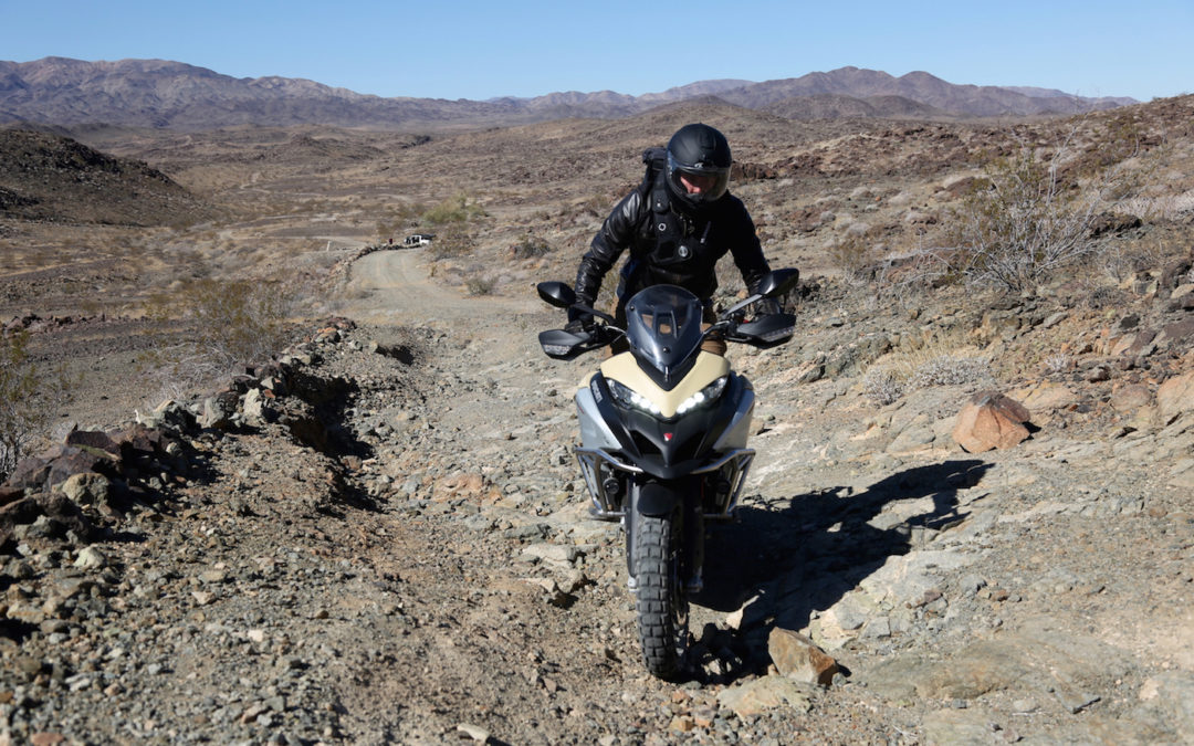 Ducati's Multistrada Enduro Pro and Velomacchi's Speedway Pack Are The Perfect Adventure Duo
