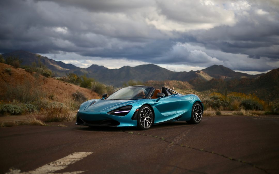 2019 McLaren 720S and 600LT Spider First Drive