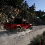 Jeep Gladiator Driving Sunflare