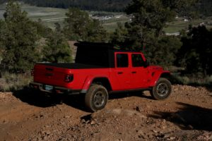 Jeep Gladiator Rear Angle