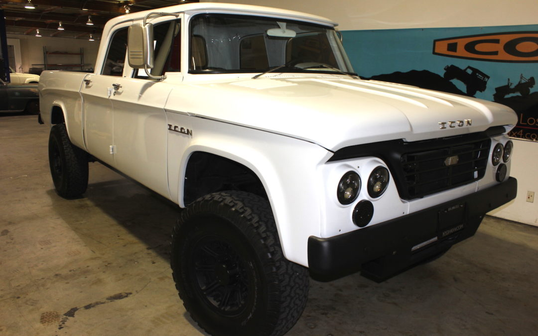 Here's How Jonathan Ward Turns Classic Beaters Into Collector Marvels at ICON 4×4