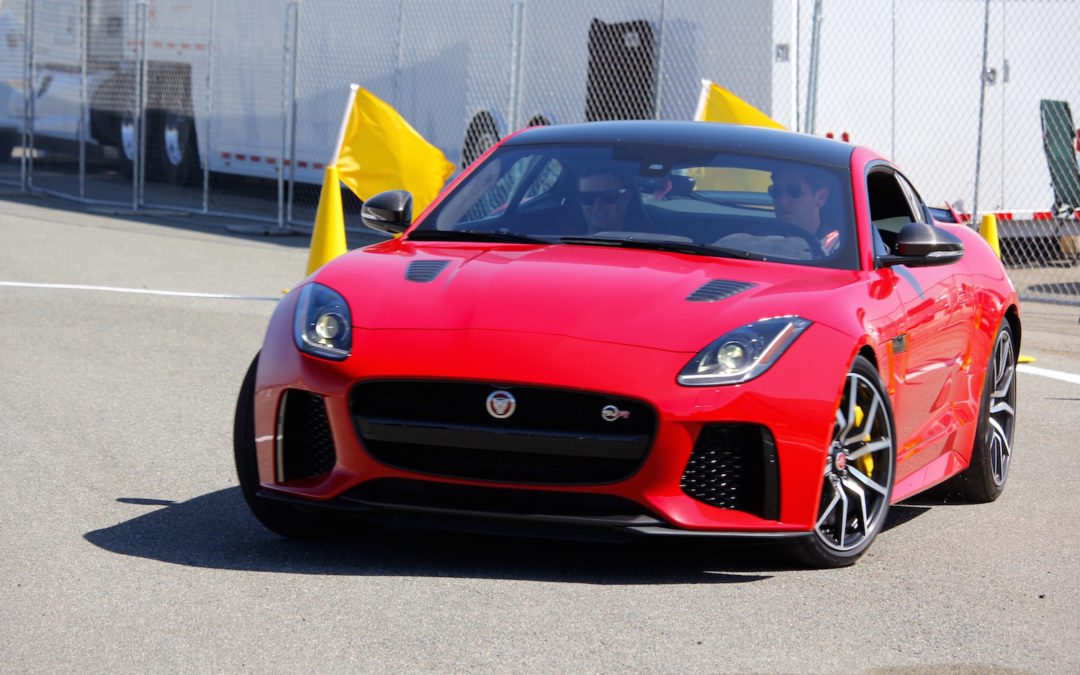 Jaguar's F-Type SVR Meets Coronado's Festival of Speed