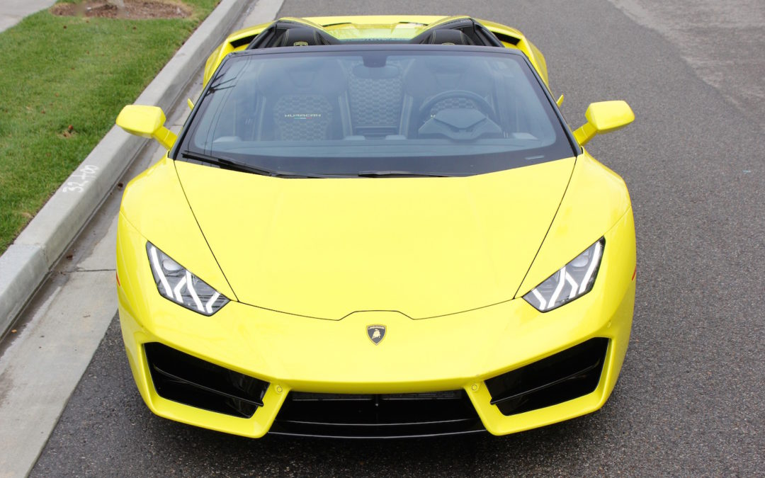 Drop That Top & Let The Lamborghini Huracan LP580-2 Spyder's V10 Fill Your Eardrums