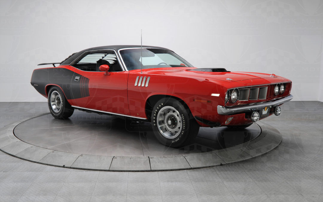The Cuda King of Muscle Cars Lists for $1.29 Million