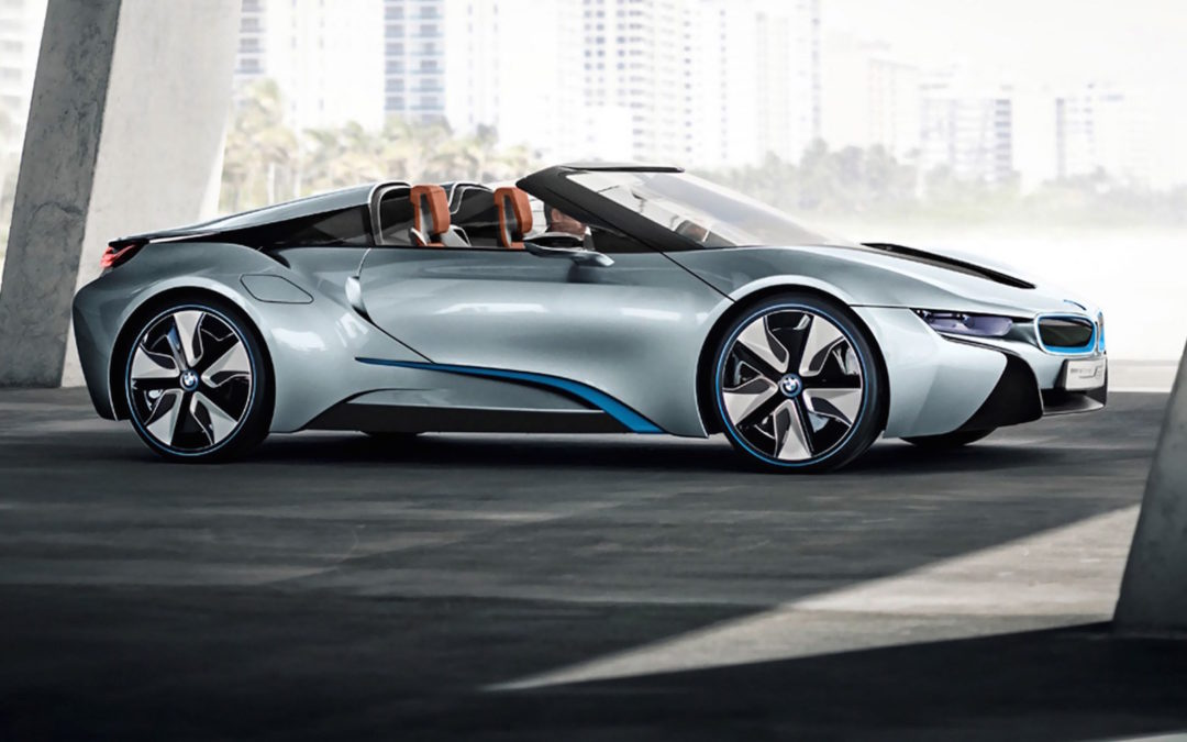 BMW's i8 Roadster Will Debut In LA This Fall