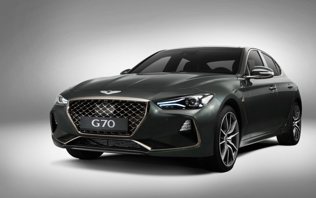 Genesis Dives Into The Compact Sport Sedan Market With Its New G70