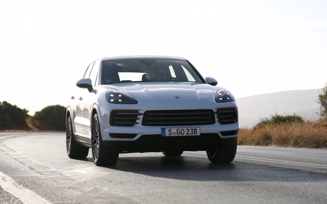2019 Porsche Cayenne S First Drive in Crete, Greece