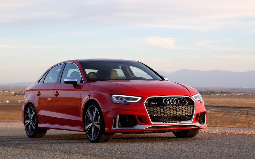 The 2018 Audi Rs3 Owns Both Road And Track