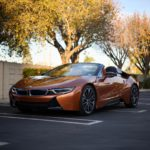 i8 Roadster front angle