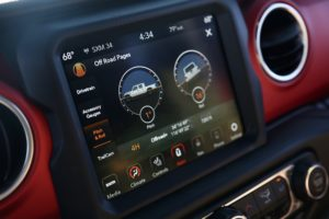 Jeep Gladiator Infotainment