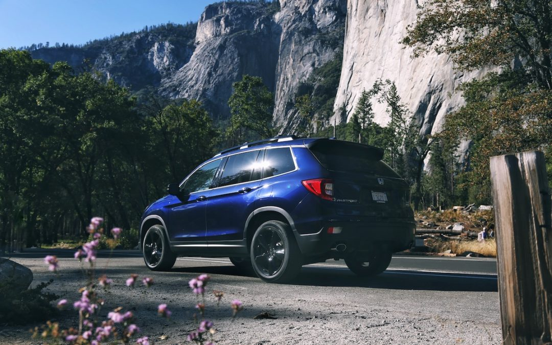 2019 Honda Passport First Drive In Yosemite