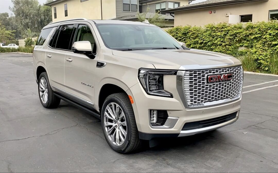 2021 GMC Yukon Denali Video Review