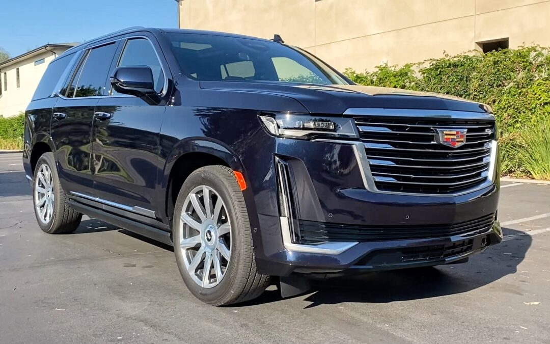 2021 Cadillac Escalade Platinum Video Review