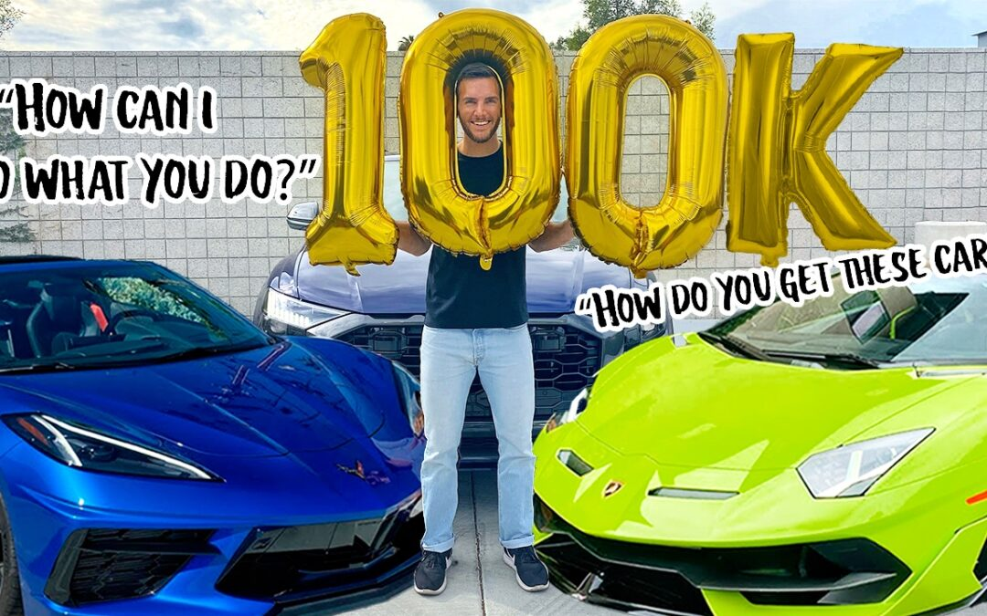 100,000 Subscriber Special: How To Become An Automotive Journalist