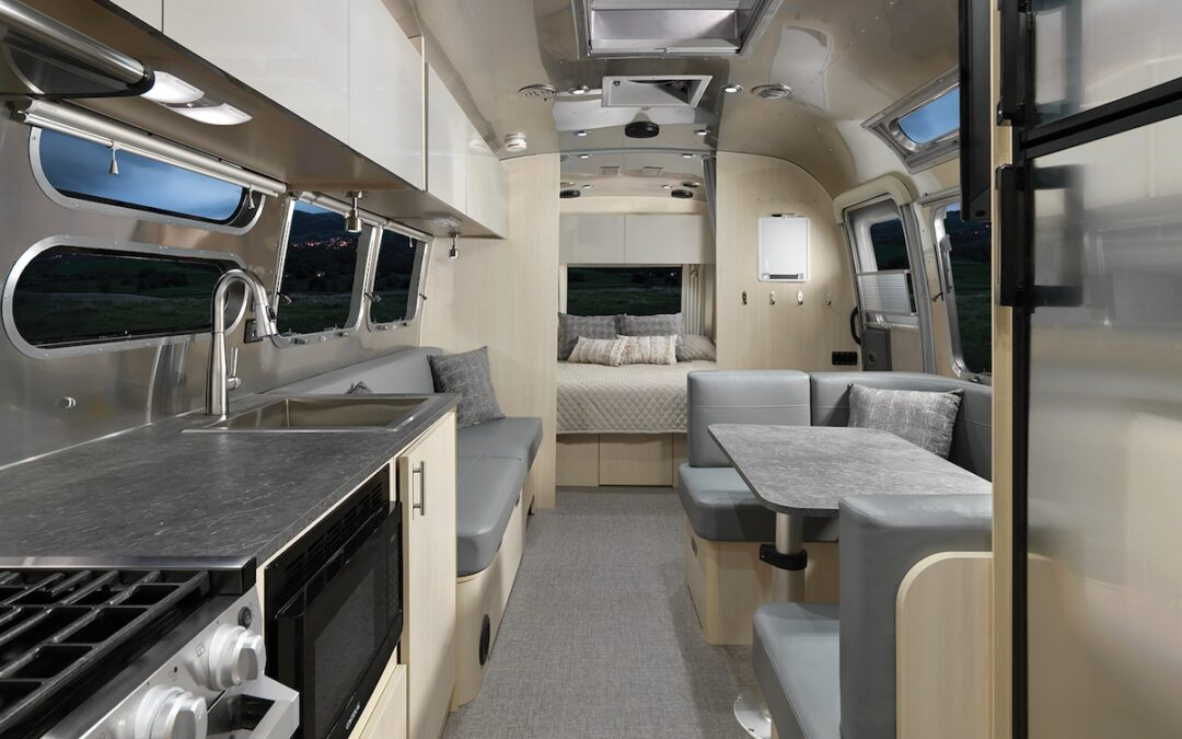 Airstream's Flying Cloud is a High-Tech Office on Wheels