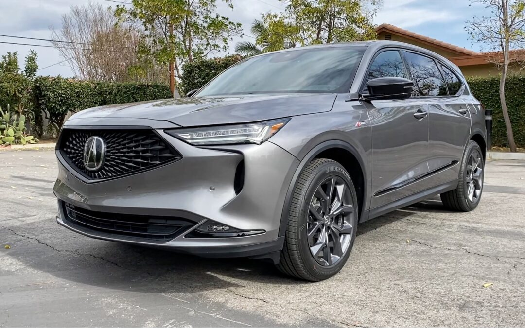 2022 Acura MDX A-Spec Video Review