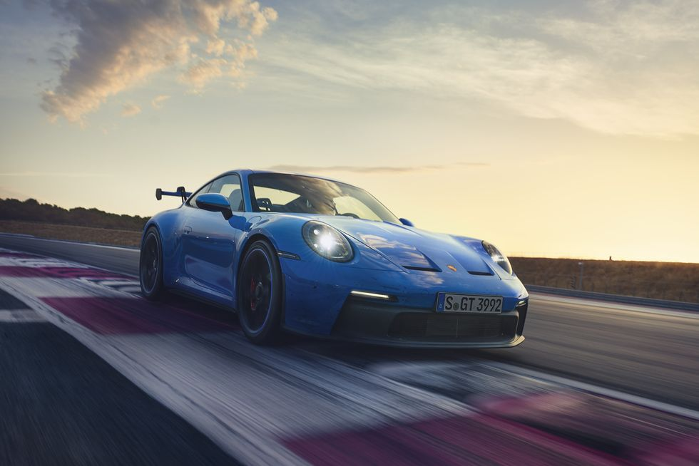 Porsche Reveals Its New 911 GT3 Sports Car
