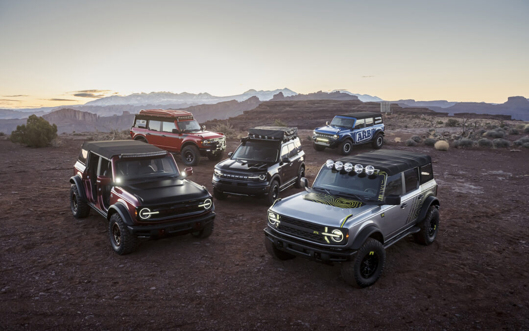 Ford Partners with Aftermarket Suppliers to Outfit its New Bronco