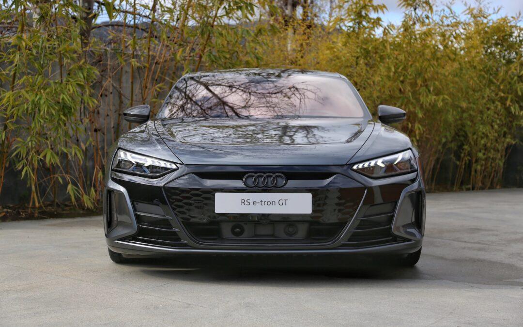 2022 Audi e-tron GT First Drive