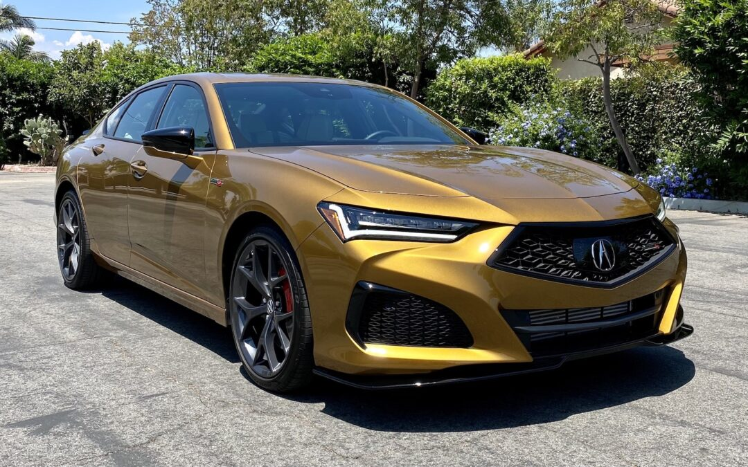 2021 Acura TLX Type S Video Review