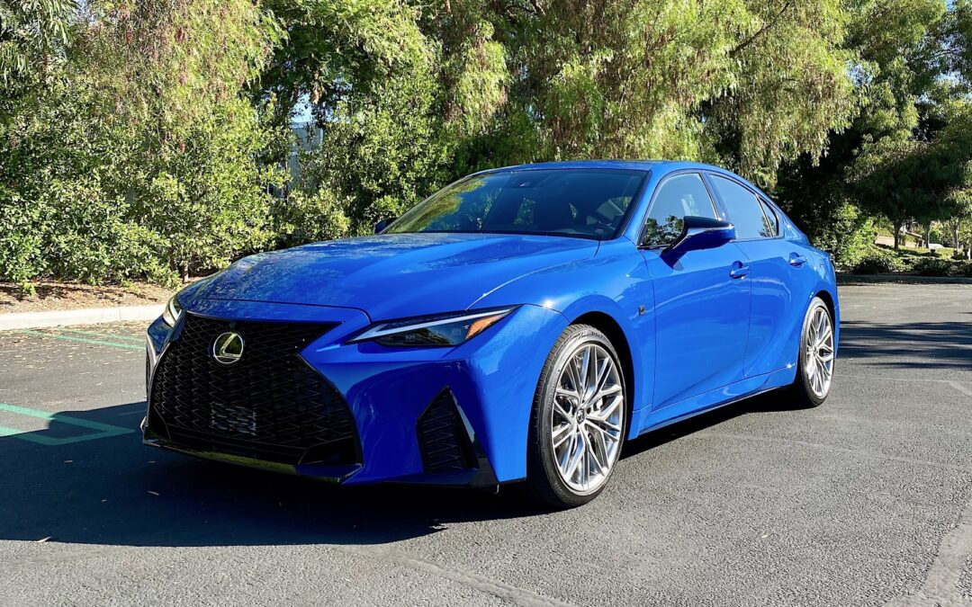 2022 Lexus IS 500 F Sport Performance Video Review